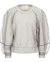 Enfold Sweatshirt - White