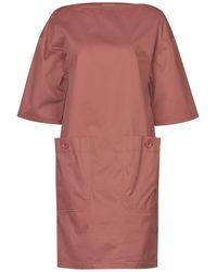 Bottega Veneta Short Dress - Pink