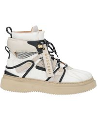Buscemi Ankle Boots - Natural