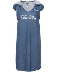 Franklin & Marshall Short Dress - Blue