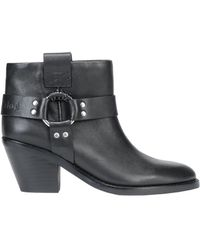 See By Chloé - Eddy Leather Ankle Boots - Lyst