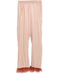 Shirtaporter Pantalone - Rosa
