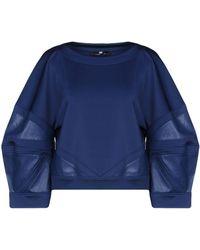 Elisabetta Franchi Sweatshirt - Blue