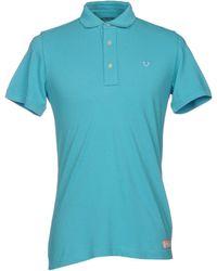 True Religion Poloshirt - Blau