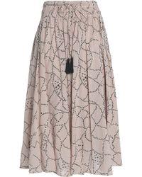 Antik Batik - 3/4 Length Skirt - Lyst