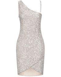 Relish Short Dress - Metallic