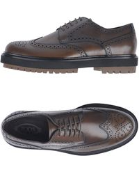 Tod's Lace-up Shoes - Brown