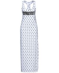 Odi Et Amo Long Dress - White