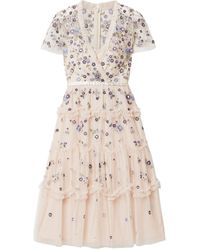 Needle & Thread Knee-length Dress - Pink