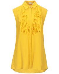 Kiton Shirt - Yellow