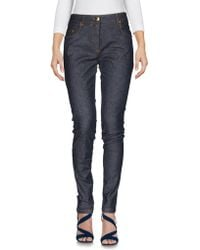Boutique Moschino - Denim Trousers - Lyst