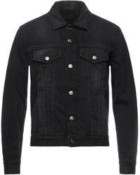 Alanui Denim Outerwear - Black
