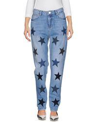 Zoe Karssen - Pantalon en jean - Lyst