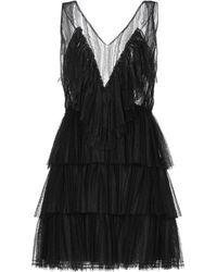 Vivetta Short Dress - Black