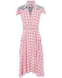 Roy Rogers Knee-length Dress - Pink