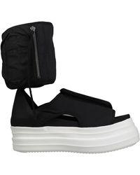 Rick Owens Drkshdw Sandals - Black