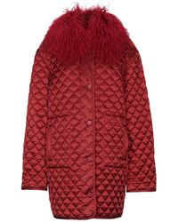 P.A.R.O.S.H. Synthetic Down Jacket - Red