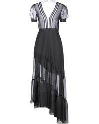 Raquel Diniz Long Dress - Black