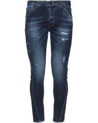 Takeshy Kurosawa Pantaloni jeans - Blu