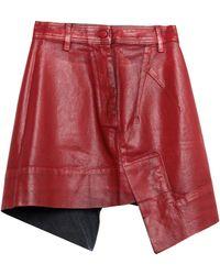 Vivienne Westwood Anglomania Denim Skirt - Red