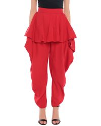 Palmer//Harding Casual Pants - Red