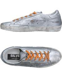 Golden Goose Deluxe Brand Low Sneakers & Tennisschuhe - Mettallic