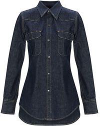 CALVIN KLEIN 205W39NYC Denim Shirt - Blue