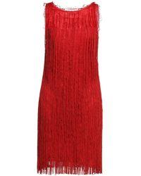 Alberta Ferretti Knee-length Dress - Red