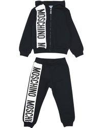 Moschino Fleece Set - Black