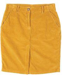 Leon & Harper Midi Skirt - Yellow