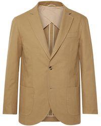 De Bonne Facture Suit Jacket - Natural