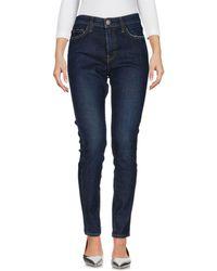 Current/Elliott - Pantalon en jean - Lyst