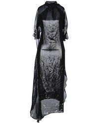 Paula Knorr Midi Dress - Black