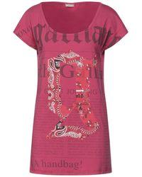 John Galliano Camiseta - Rosa