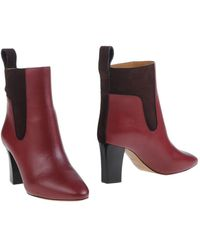 Chloé Ankle Boots - Purple