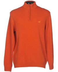 Henry Cotton's Turtleneck - Orange