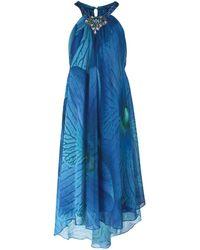 LA LUIGI AULETTA Vestito al ginocchio - Blu