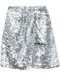Amen Mini Skirt - Metallic