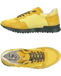 L4k3 Low-tops & Sneakers - Yellow