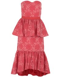 Christian Pellizzari Knee-length Dress - Red