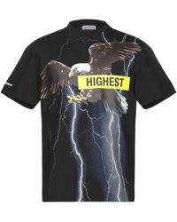 Palm Angels Storm Eagle T-shirt - Black