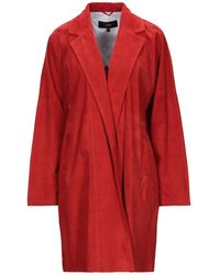 Arma Overcoat - Red
