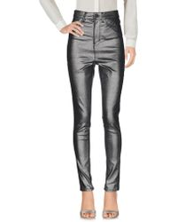 WÅVEN Casual Pants - Metallic