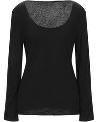 Les Copains T-shirt - Black