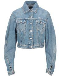 Marcelo Burlon Denim Outerwear - Blue