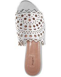 Alaïa Sandals - Metallic
