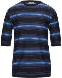 CAMO Pullover - Blau
