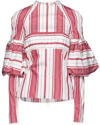 Hellessy Blouse - Rouge