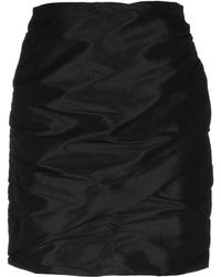 KATE BY LALTRAMODA Mini Skirt - Black
