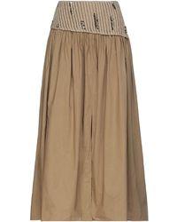 Gentry Portofino - 3/4 Length Skirt - Lyst